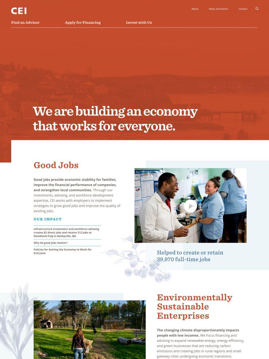 CEI Homepage