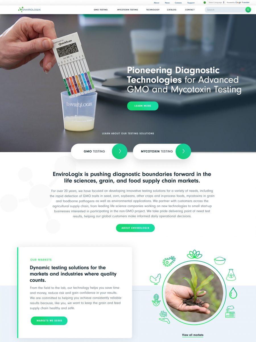 Envirologix Homepage