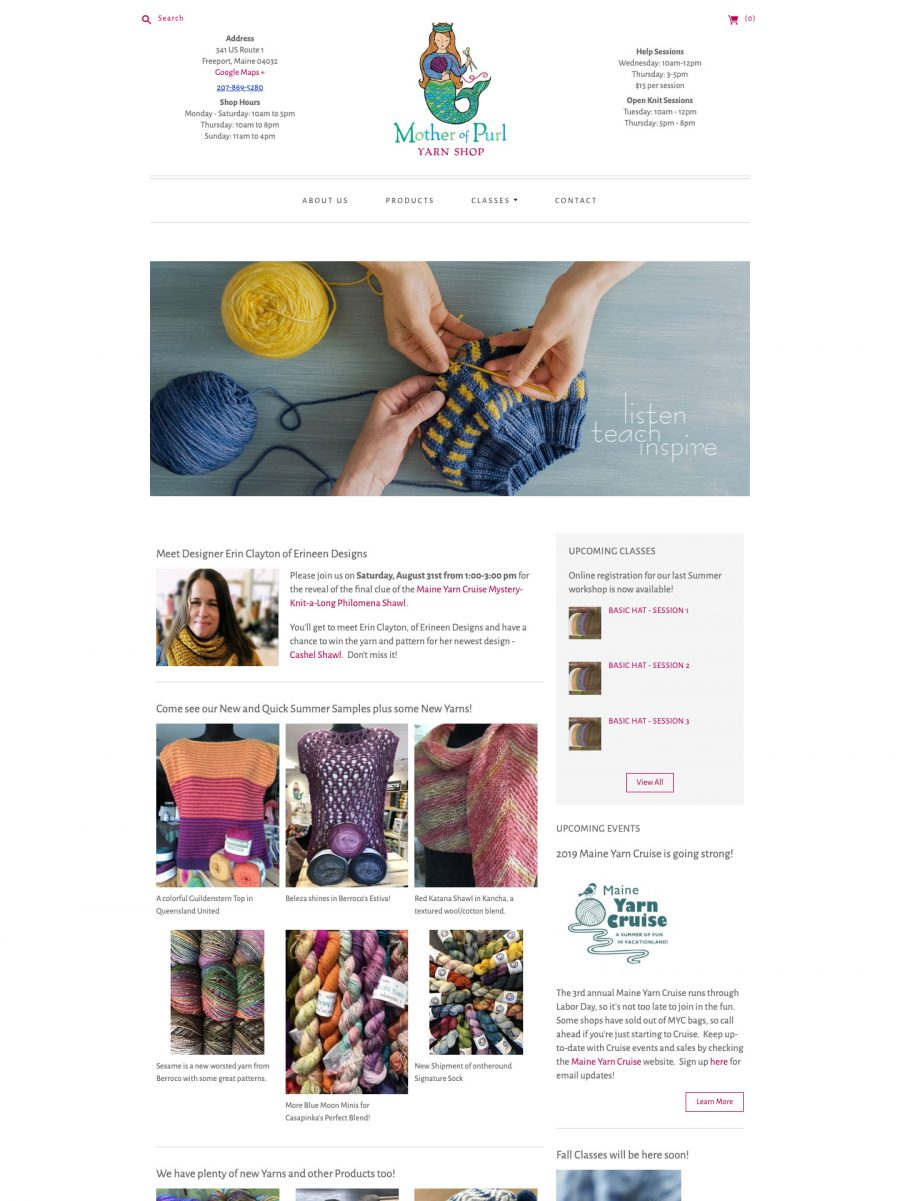 Mother of Purl Homepage
