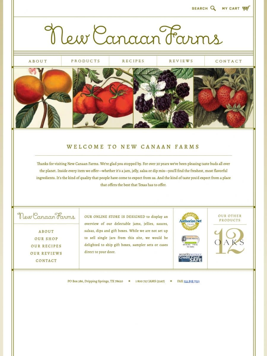 New Canaan Farms Homepage