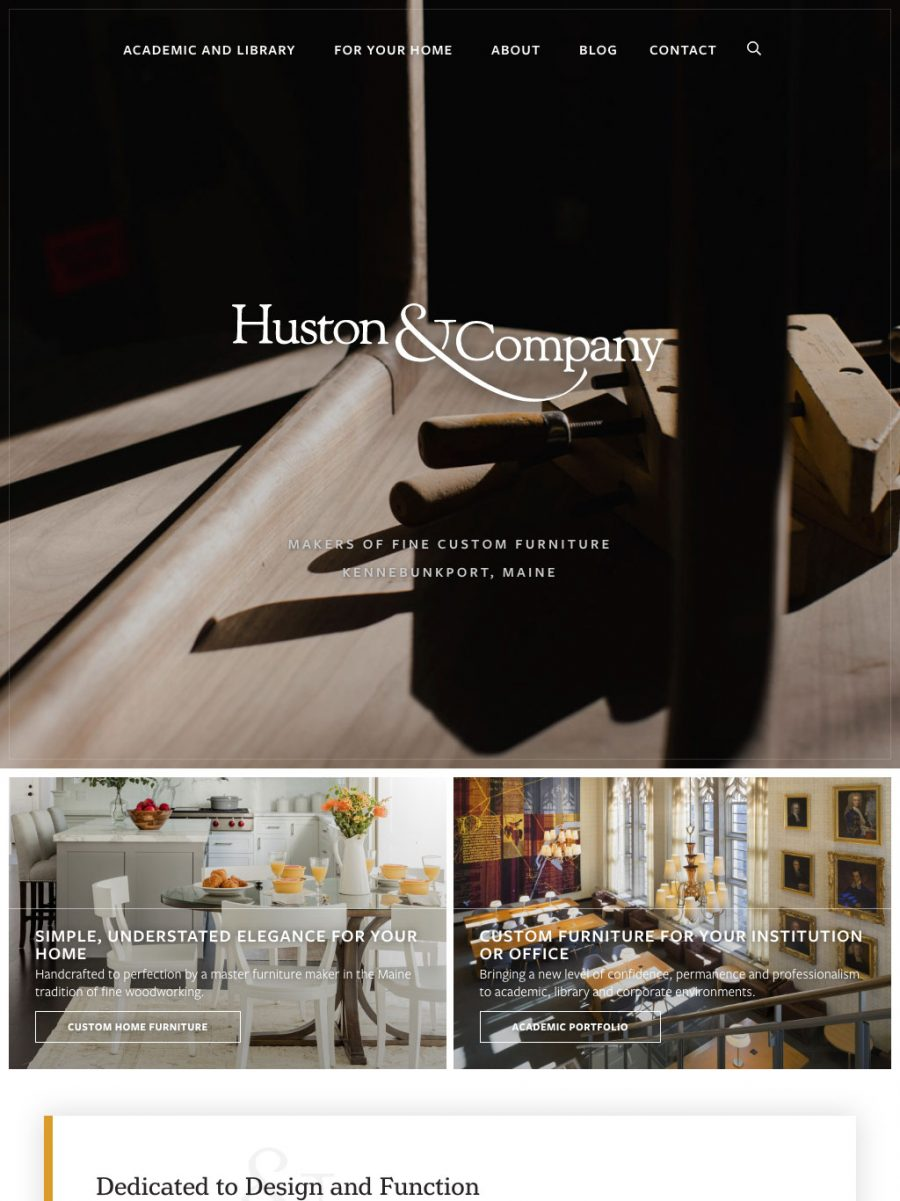 Huston and Company Homepage